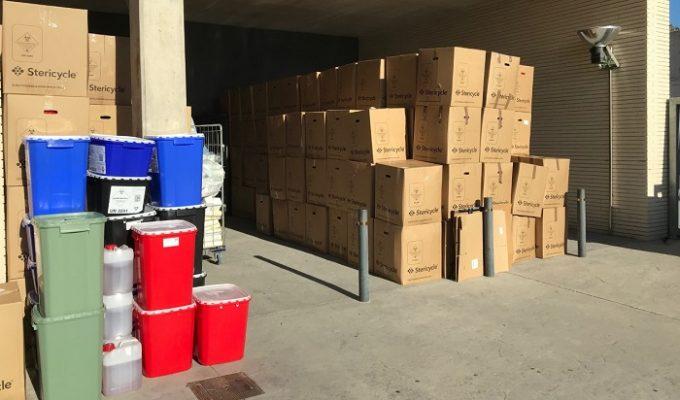 hospital de lliria residuos covid