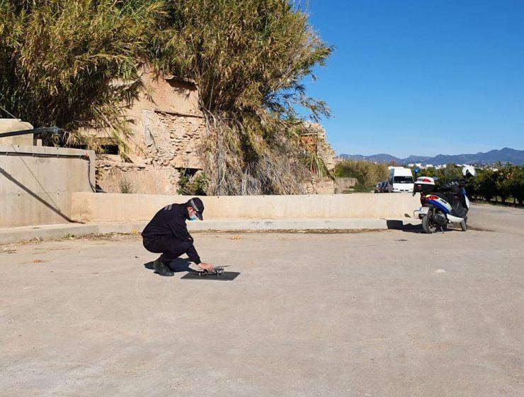 drones Benaguasil Camp de Túria