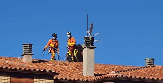 bomberos viento