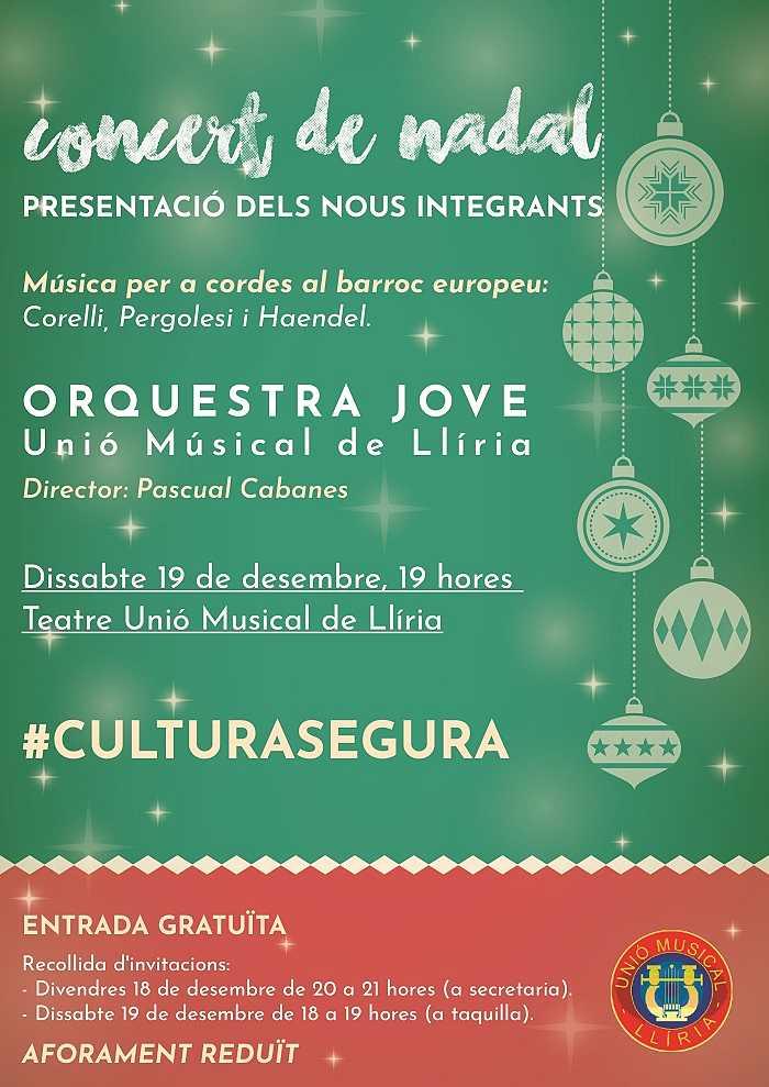 cartel navidad unio musical