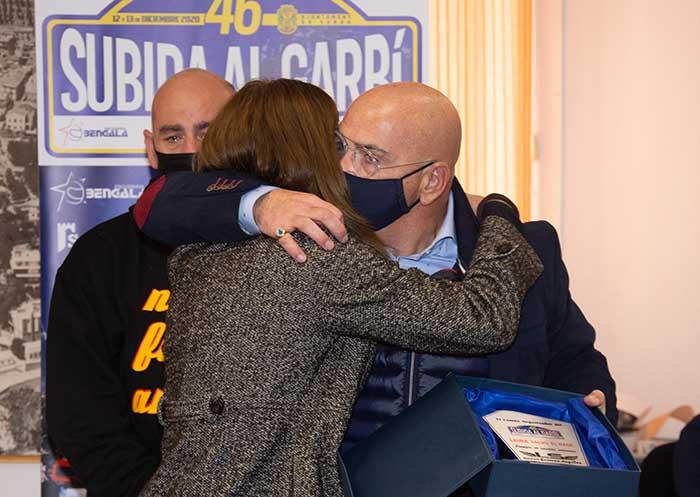 Padres Laura Salvo 46 subida al Garbí