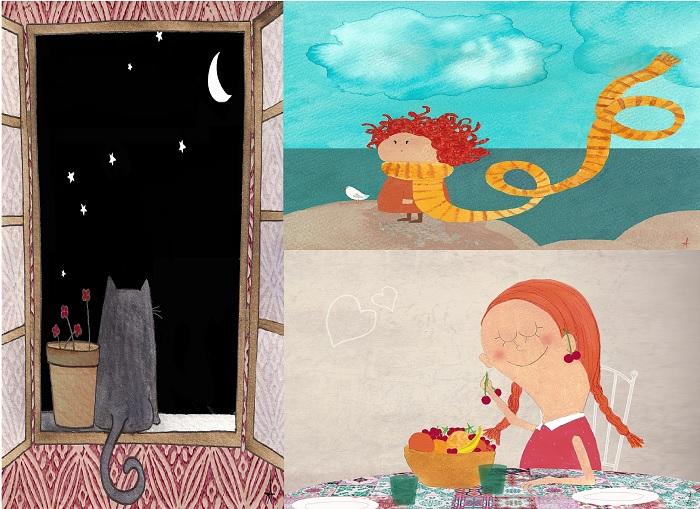 ilustraciones aurora rua
