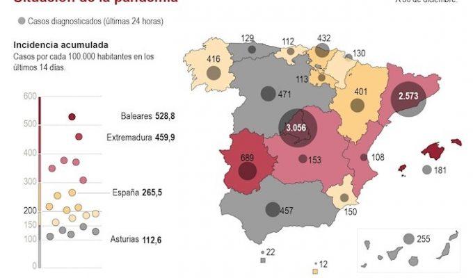 mapa pandemia