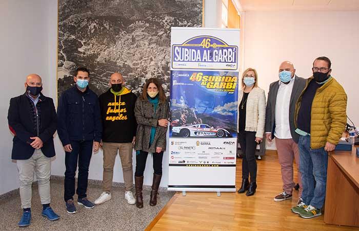 Fotos presentación 46 Subida al Garbí de Serra