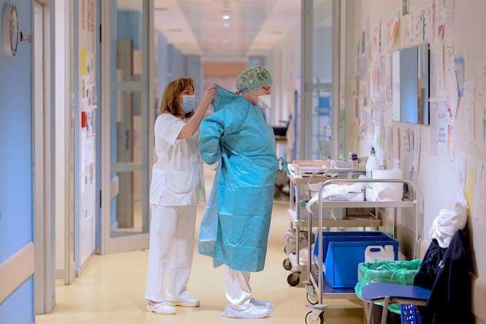 Enfermeras covid