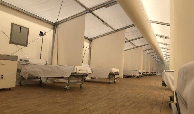hospital de campaña la Fe