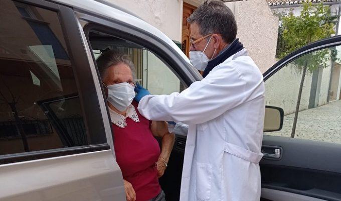 vacunación olocau