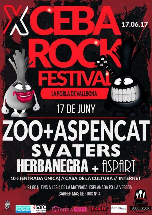 Ceba Rock la Pobla de Vallbona 2017
