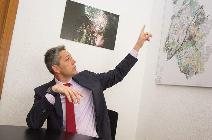 Josep Vicent Garcia alcalde Pobla Vallbona
