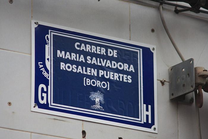 Carrer de Maria Salvadora Rosalen