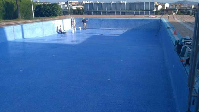 La piscina municipal tanca pels treballs de manteniment for Piscina municipal lliria